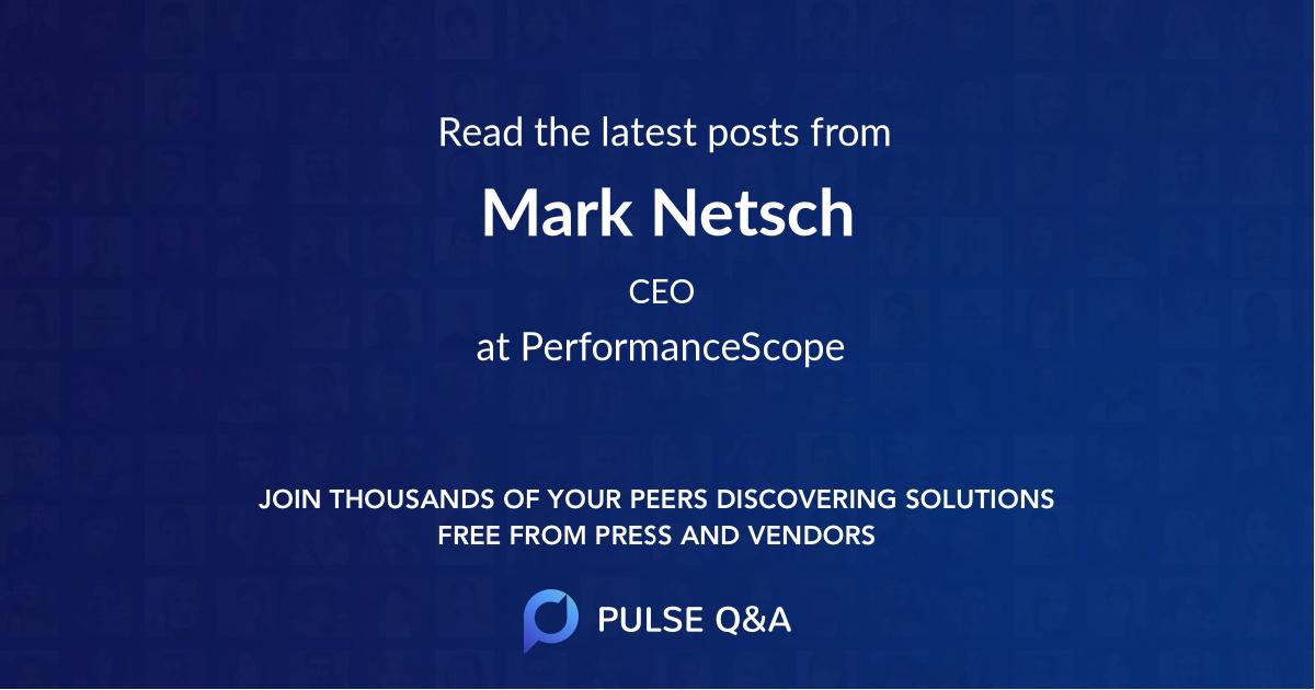 Mark Netsch