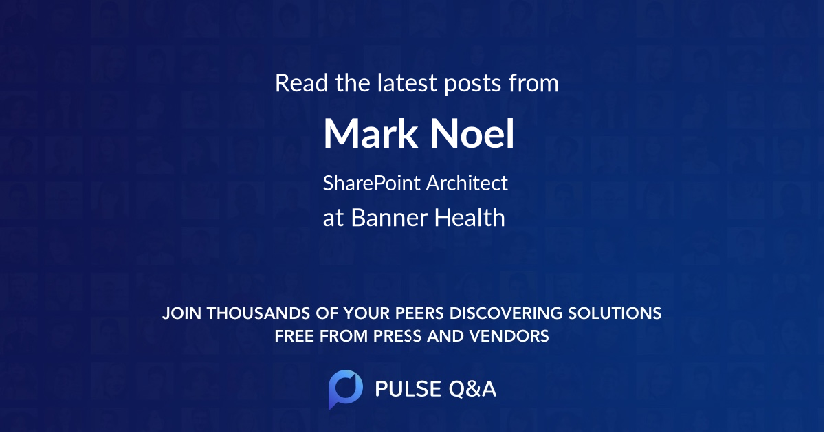 Mark Noel