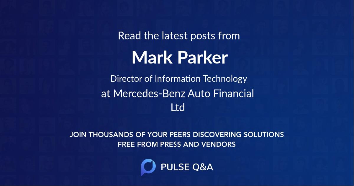 Mark Parker