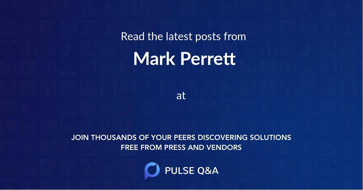 Mark Perrett