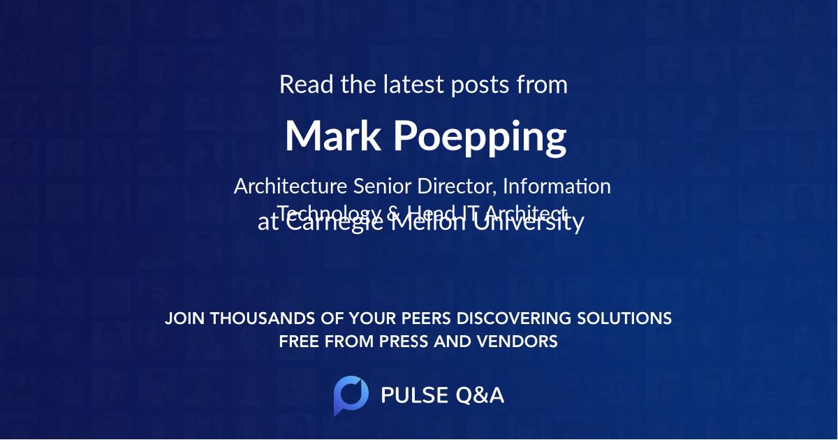 Mark Poepping
