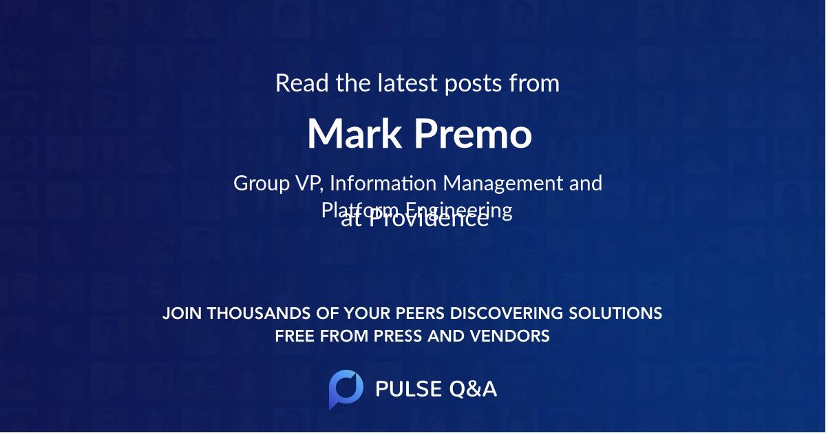 Mark Premo