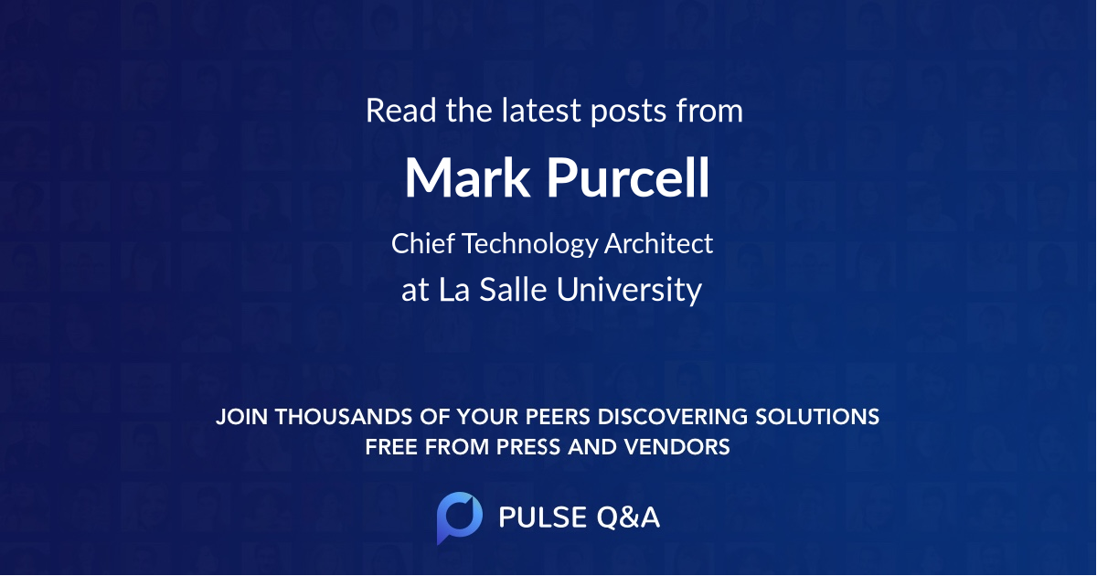 Mark Purcell