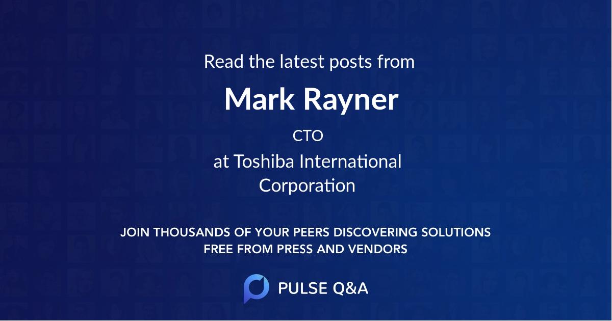 Mark Rayner
