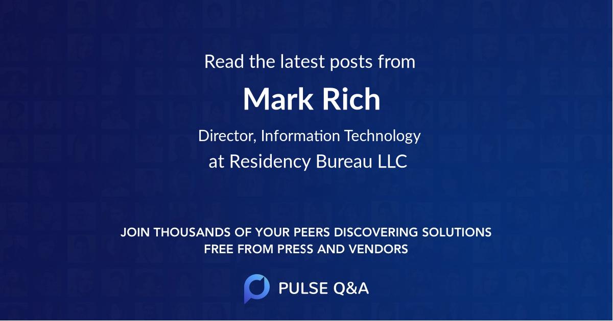 Mark Rich