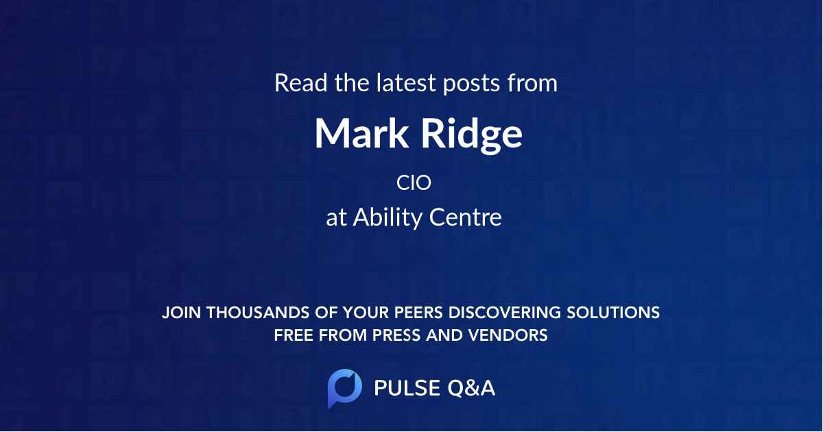 Mark Ridge