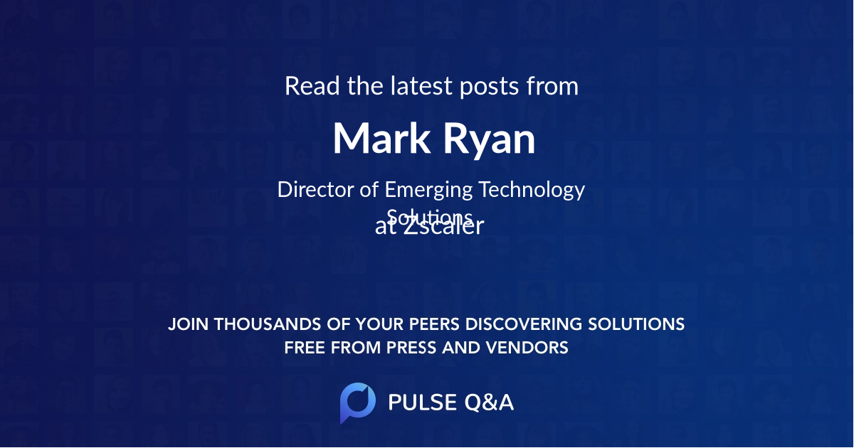 Mark Ryan
