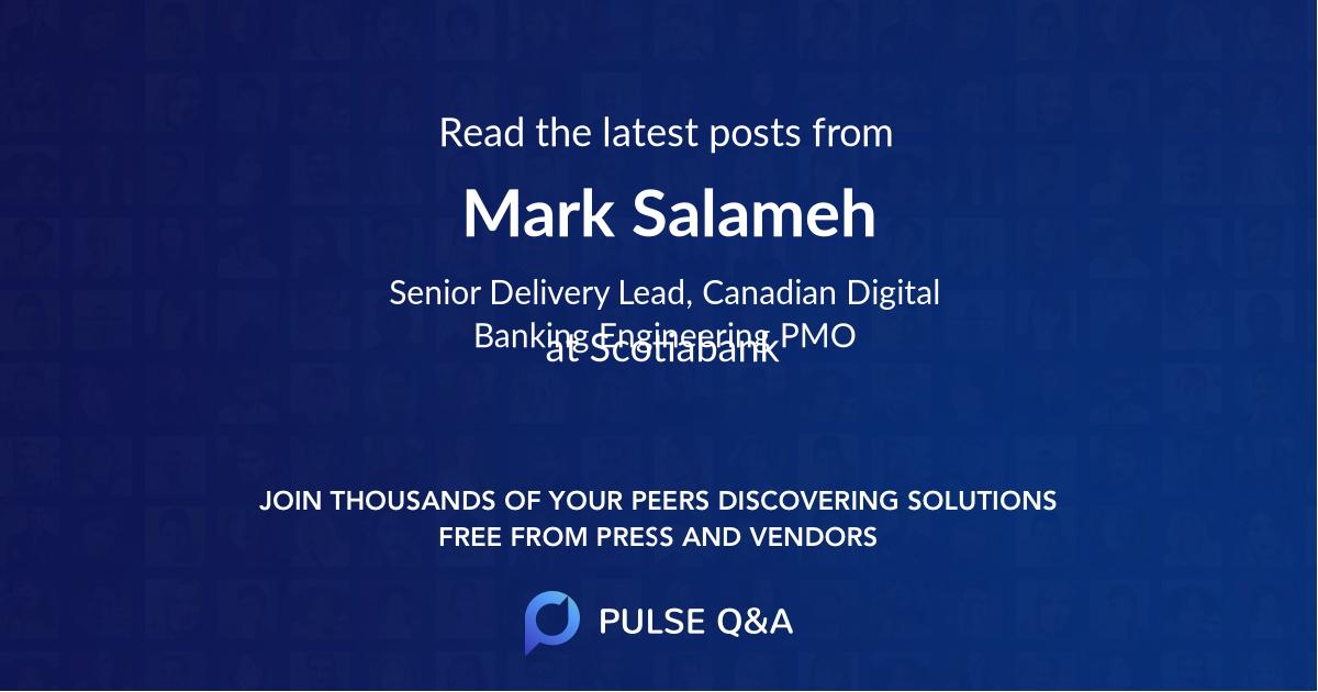 Mark Salameh