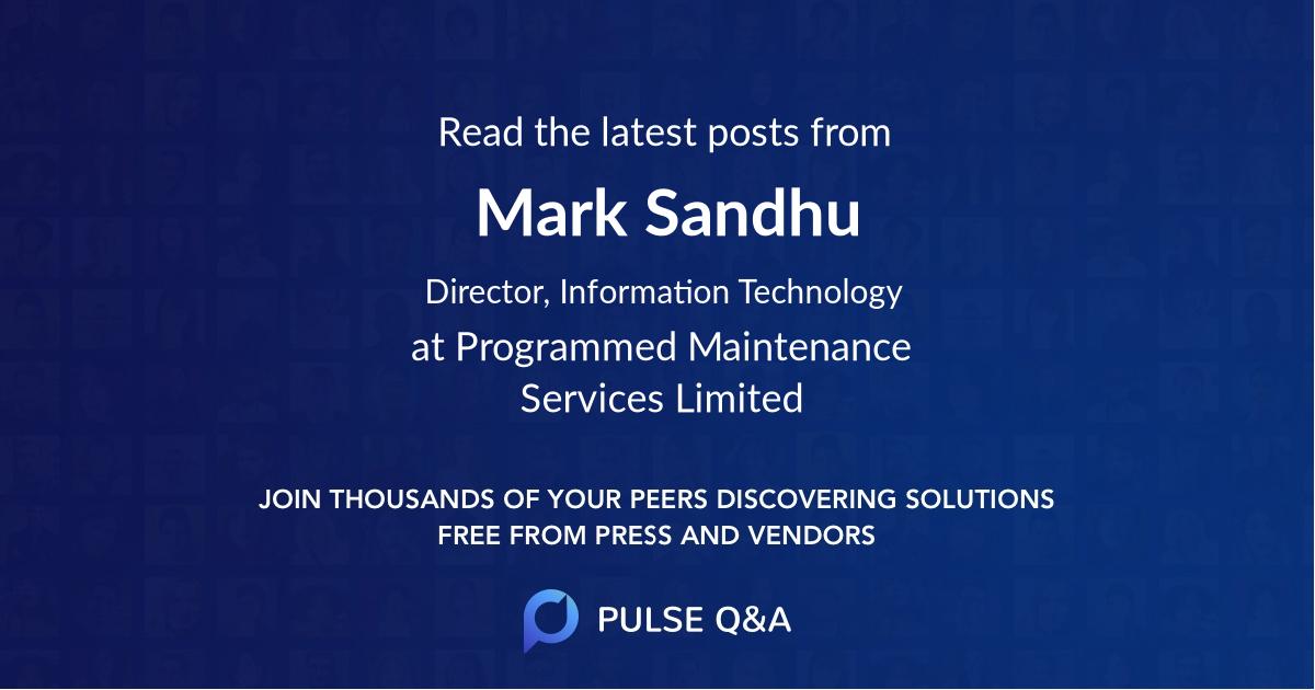 Mark Sandhu