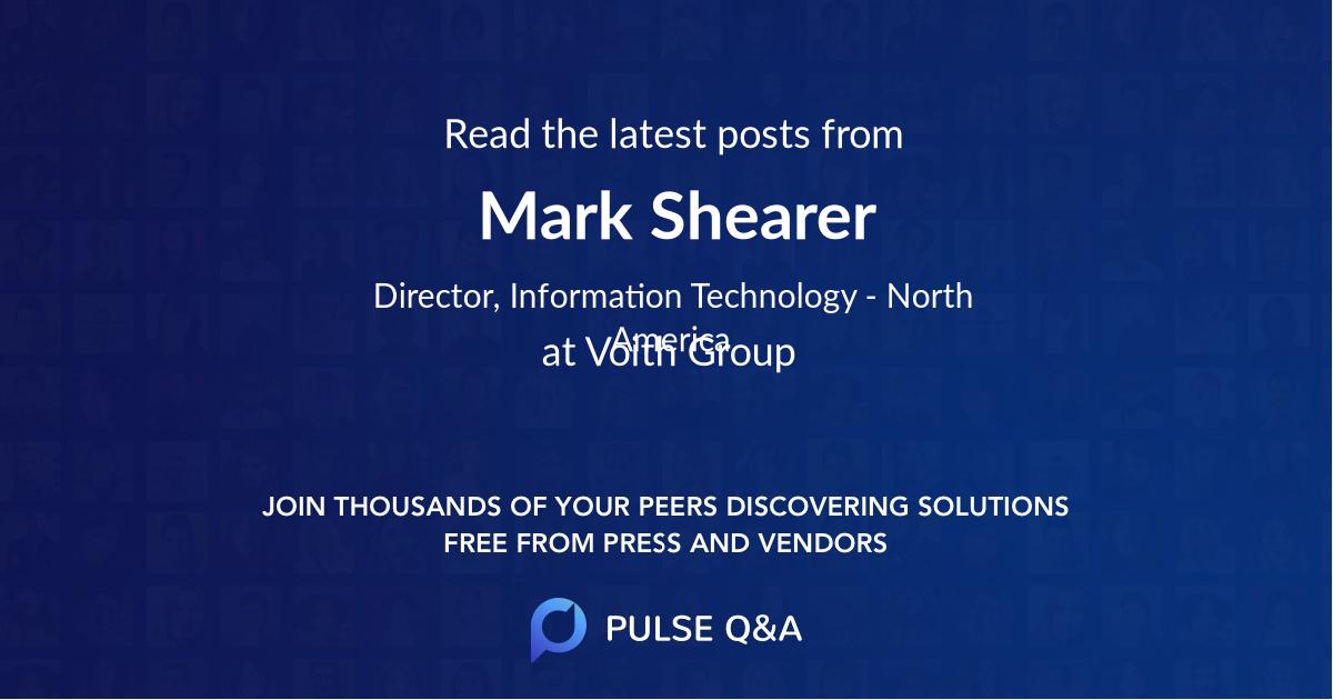 Mark Shearer