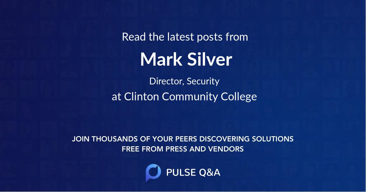 Mark Silver