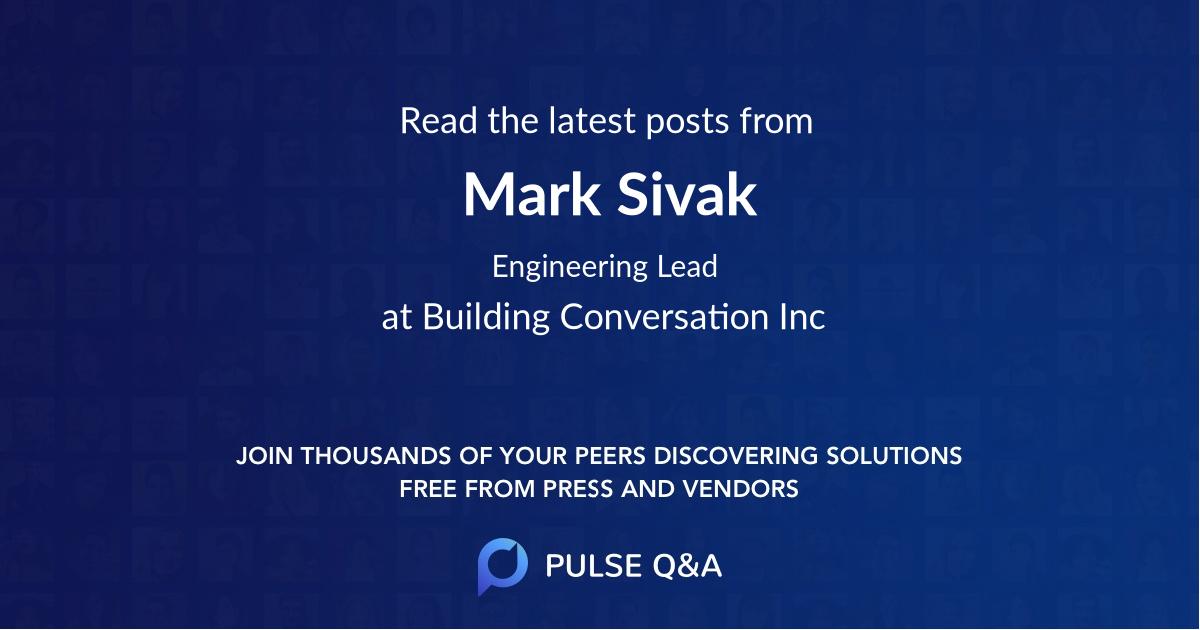 Mark Sivak