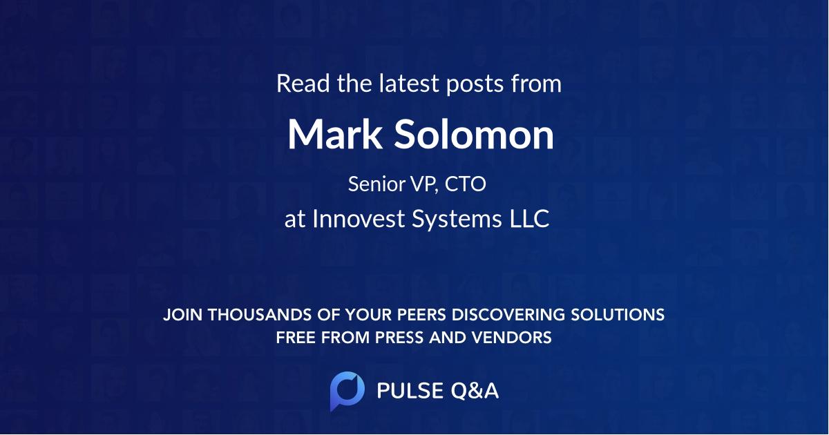 Mark Solomon
