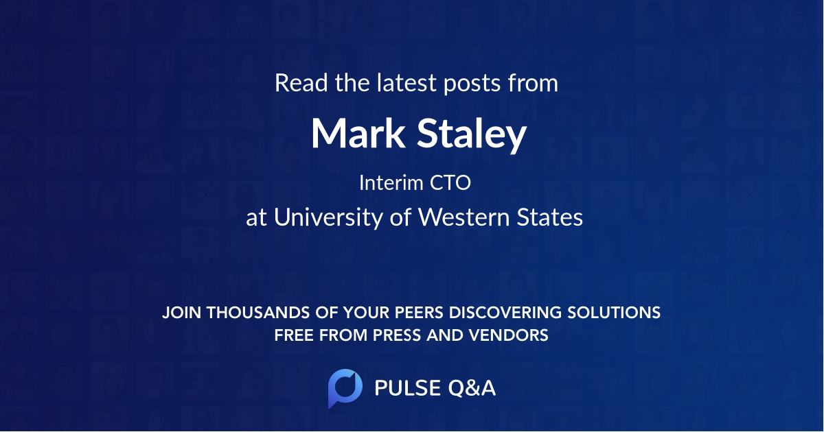Mark Staley