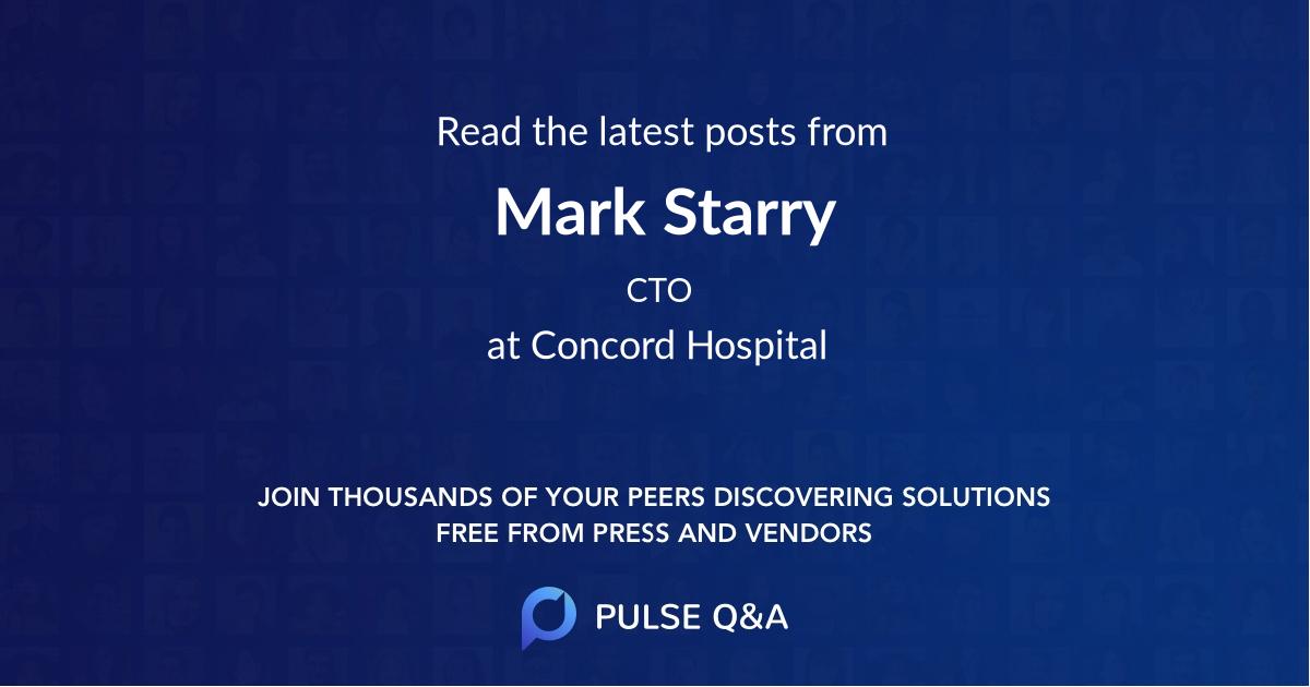 Mark Starry