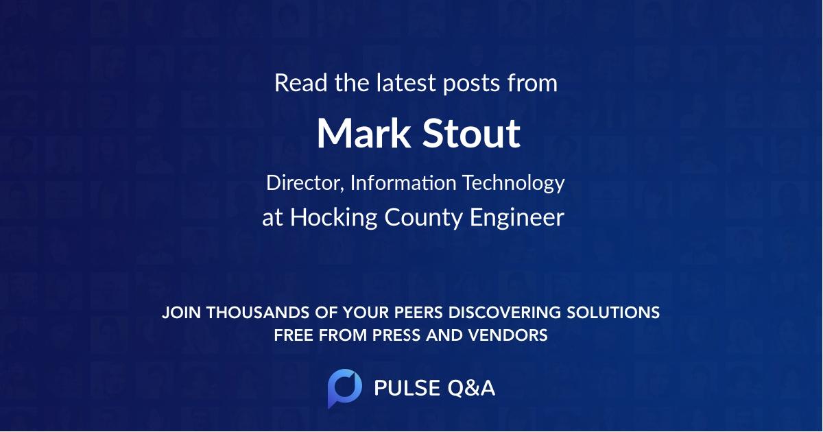 Mark Stout