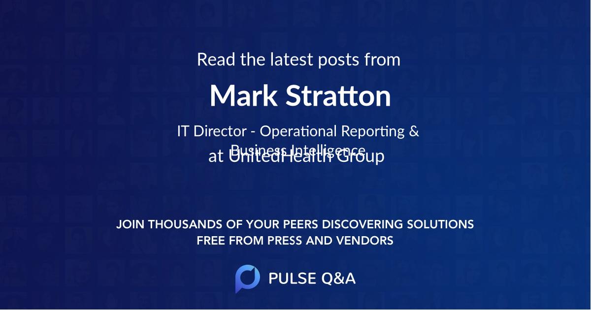 Mark Stratton