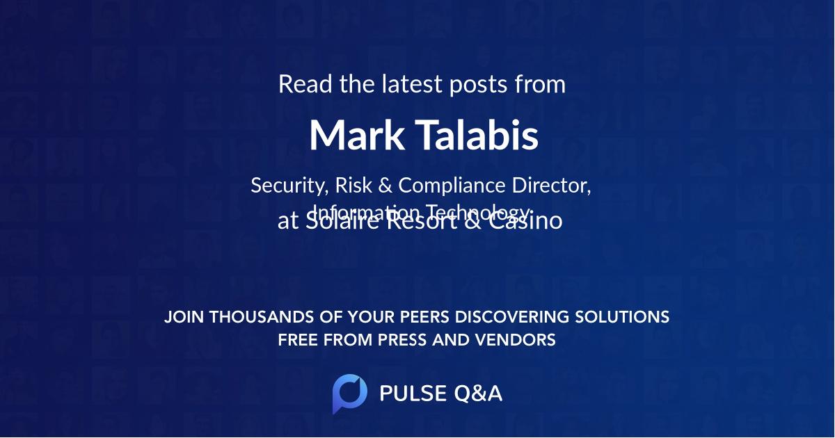 Mark Talabis