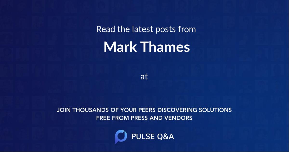 Mark Thames