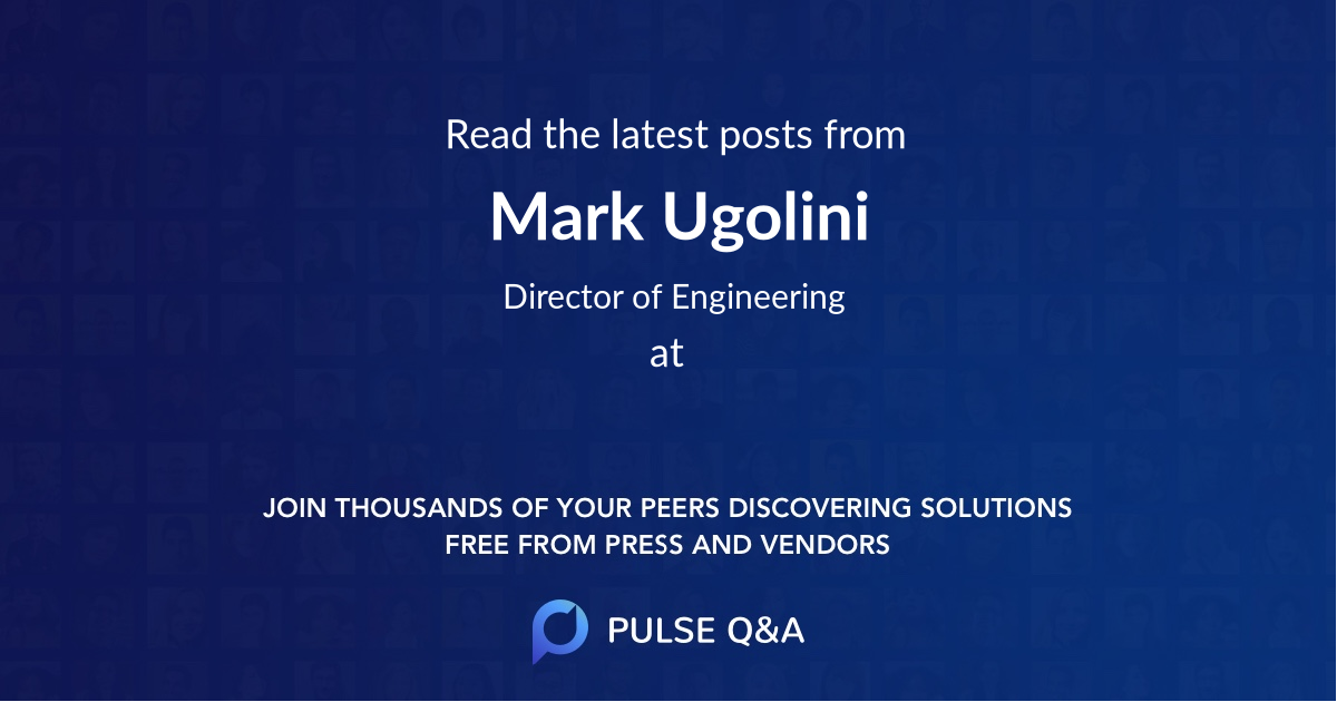 Mark Ugolini