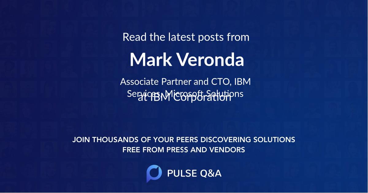 Mark Veronda