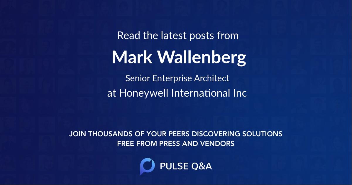 Mark Wallenberg