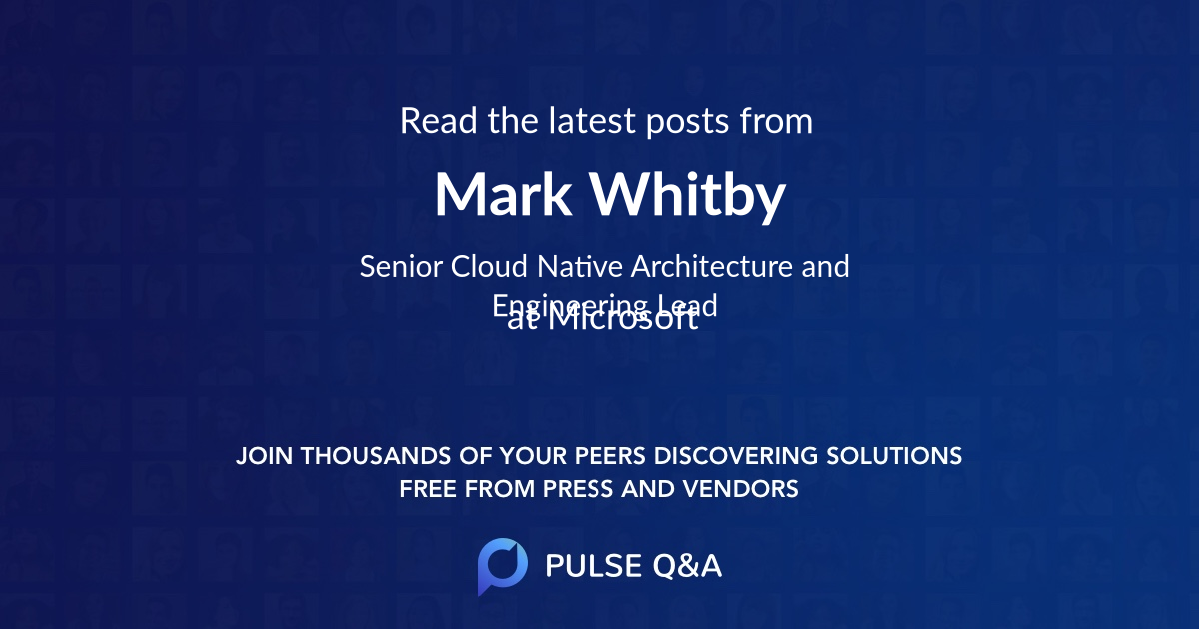 Mark Whitby