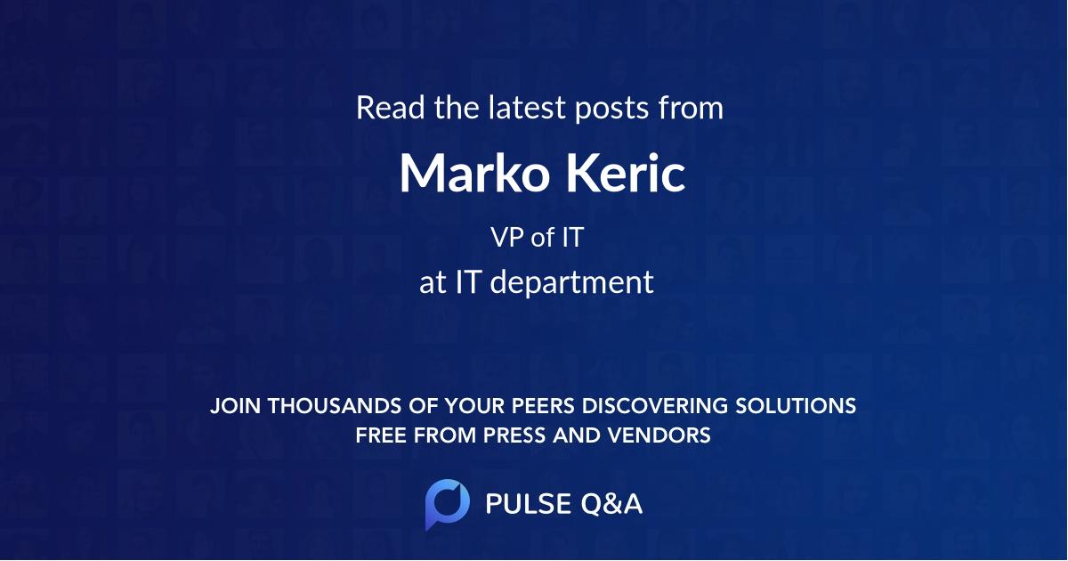 Marko Keric