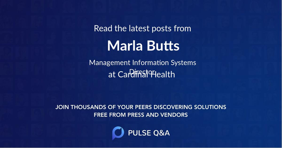 Marla Butts