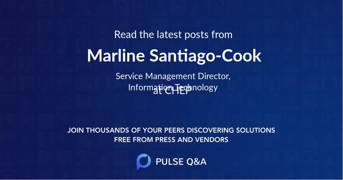 Marline Santiago-Cook