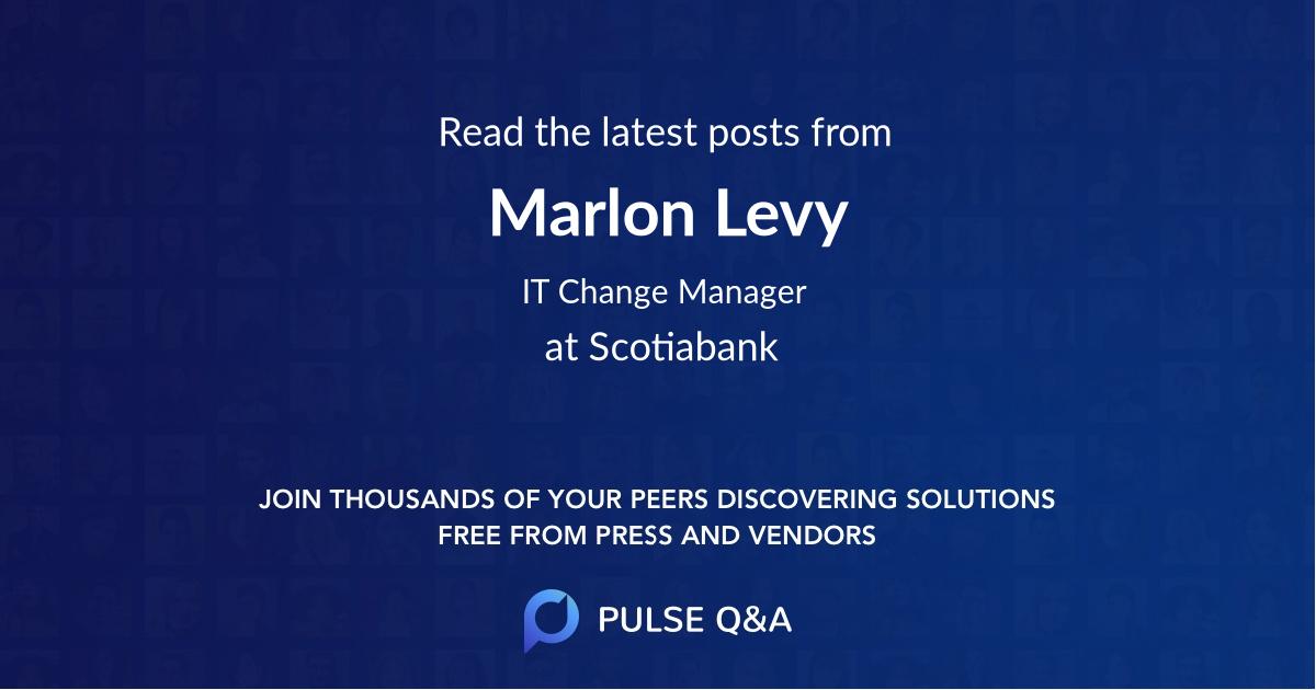 Marlon Levy
