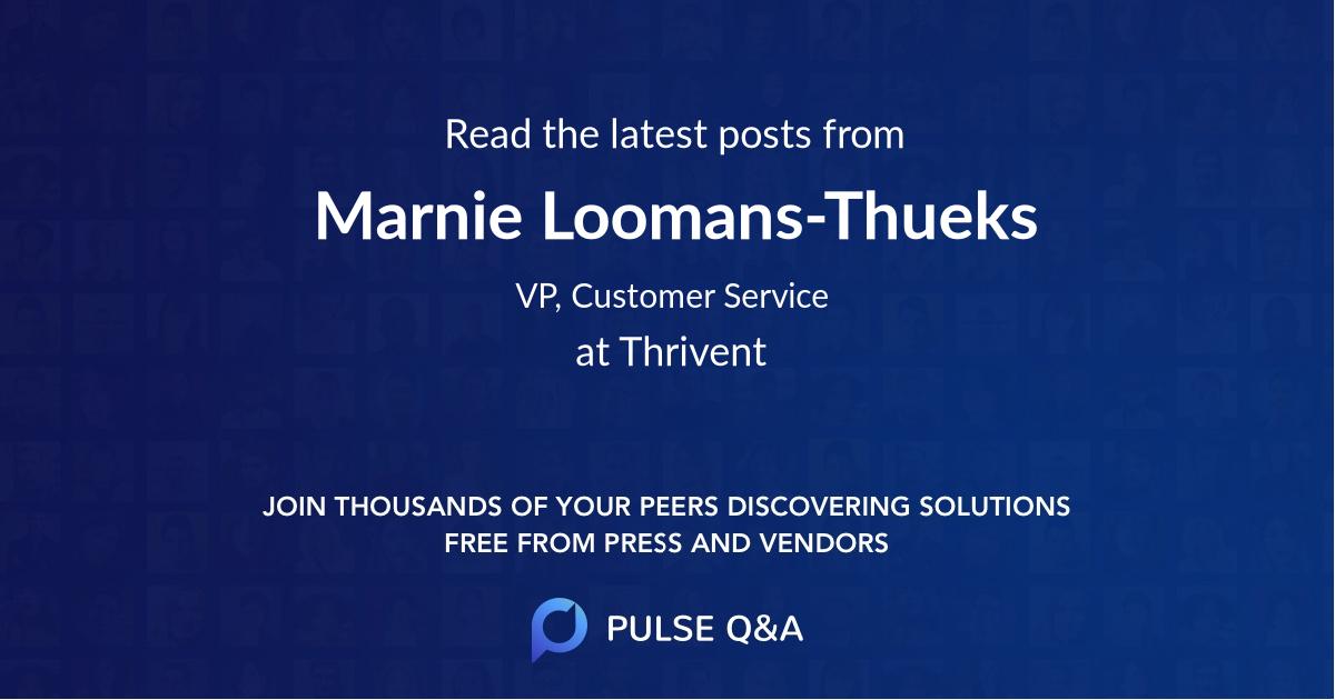 Marnie Loomans-Thueks