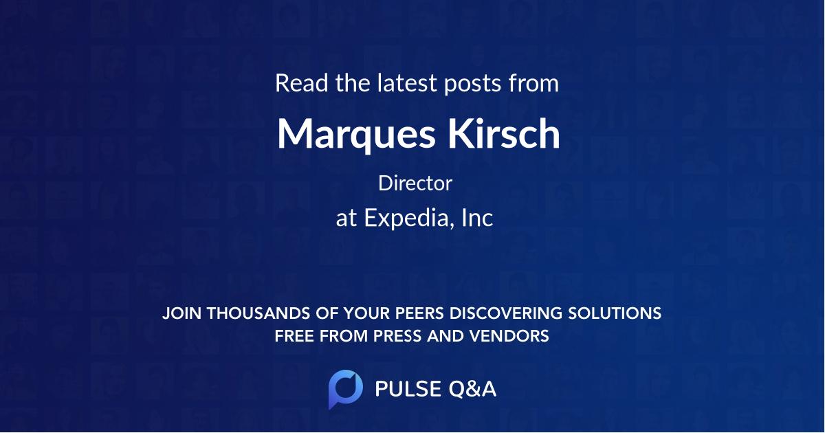 Marques Kirsch
