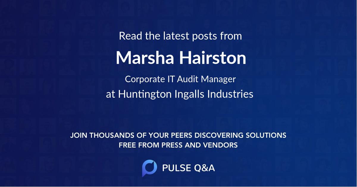Marsha Hairston