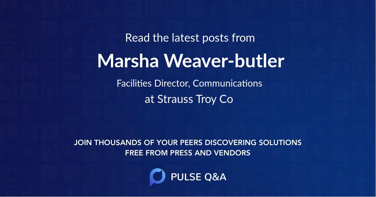 Marsha Weaver-butler