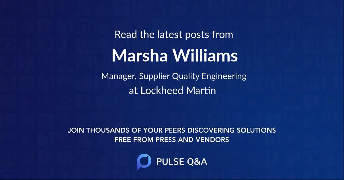 Marsha Williams