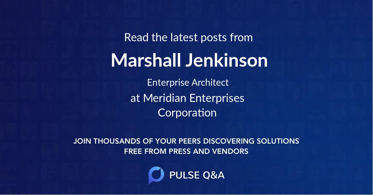 Marshall Jenkinson