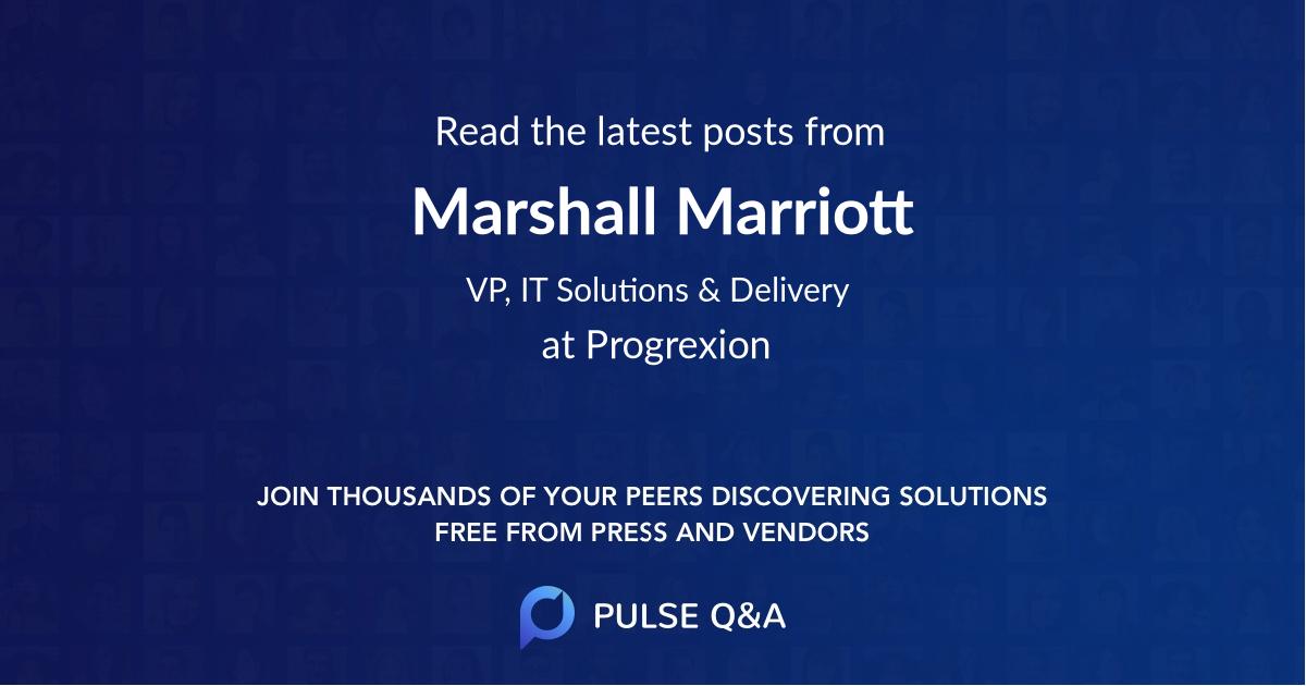 Marshall Marriott
