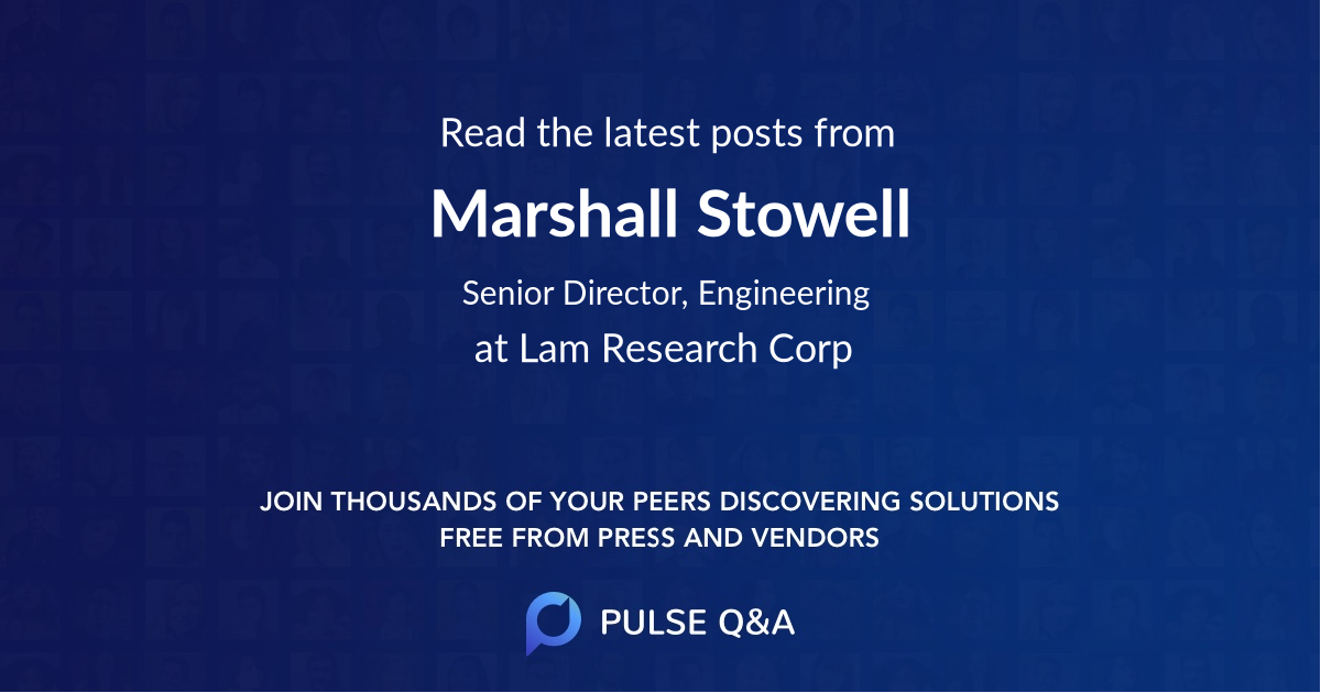 Marshall Stowell