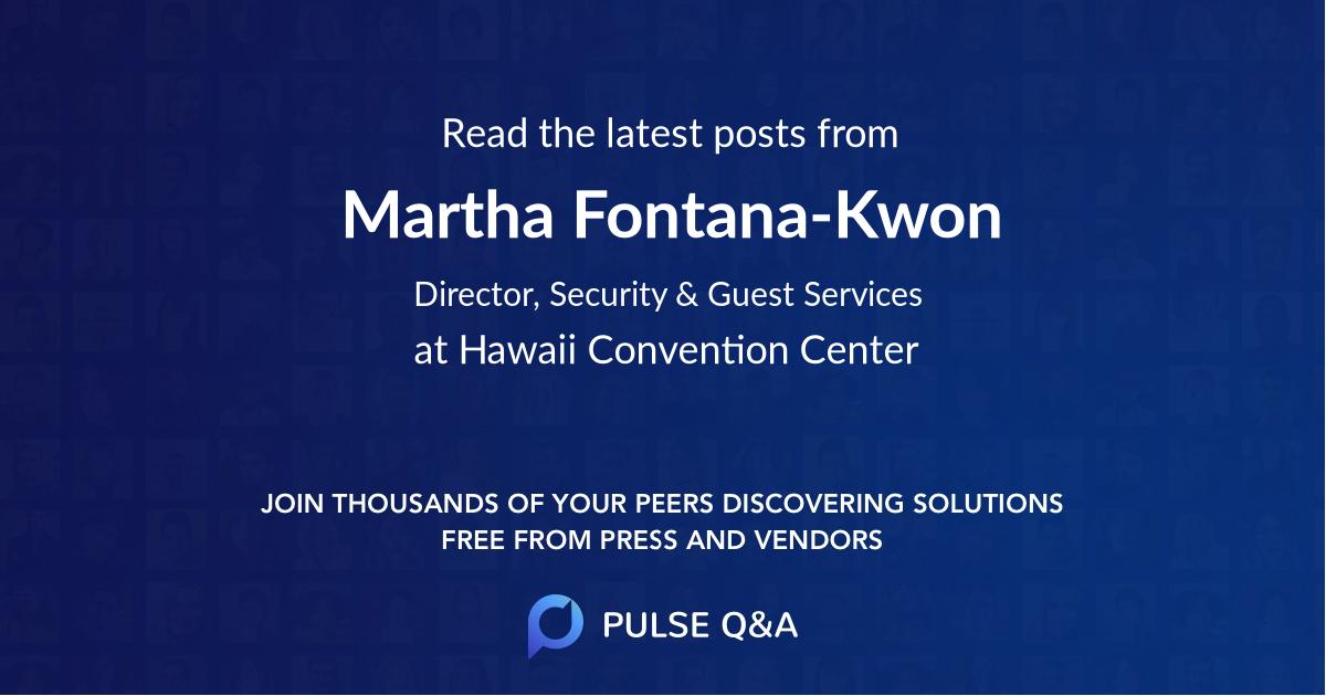 Martha Fontana-Kwon