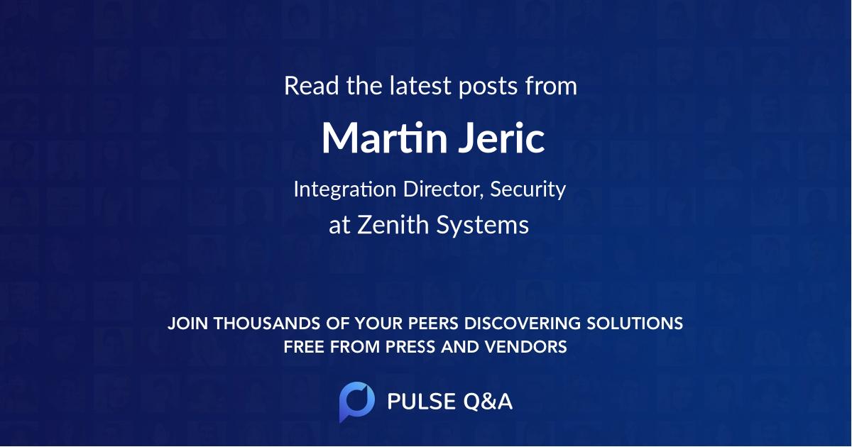 Martin Jeric