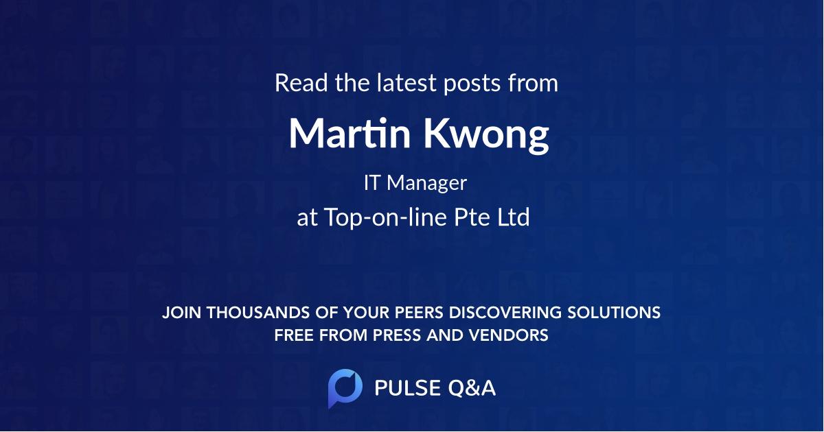 Martin Kwong