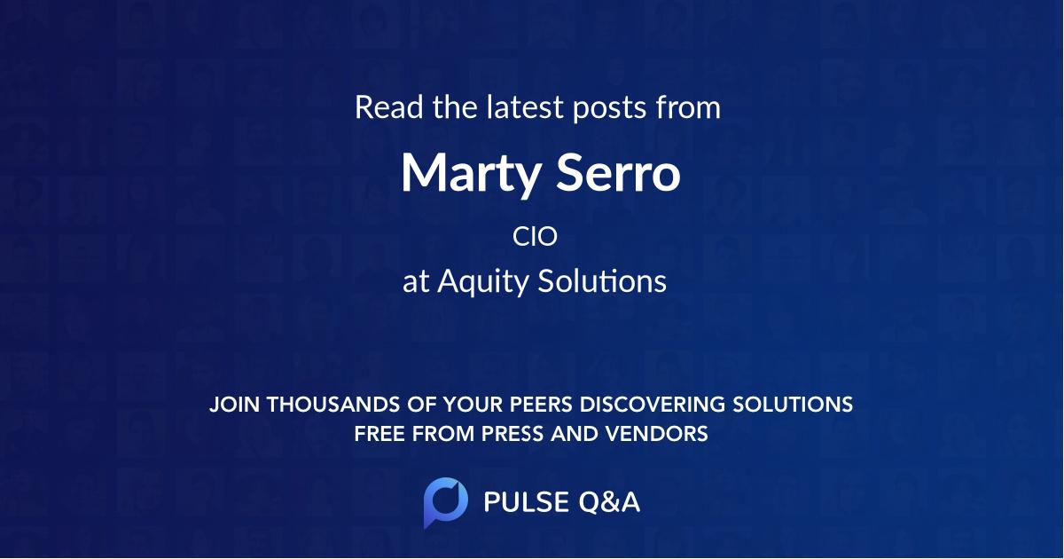 Marty Serro
