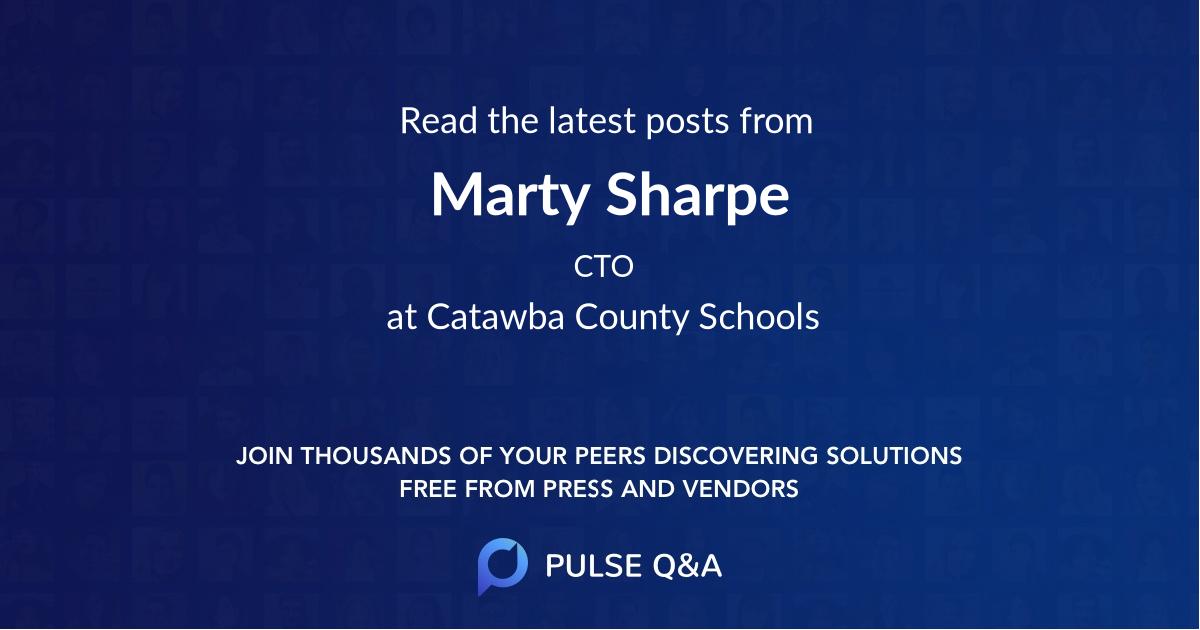 Marty Sharpe