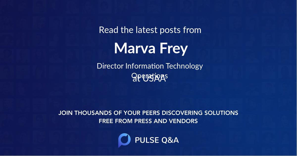 Marva Frey