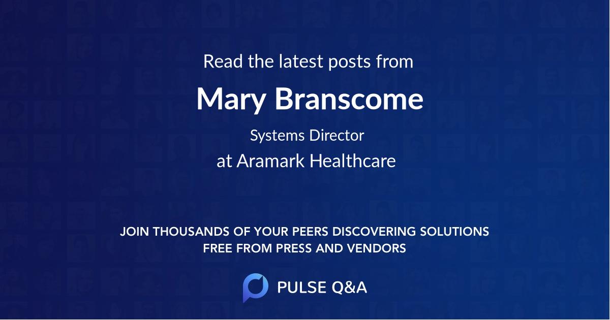 Mary Branscome