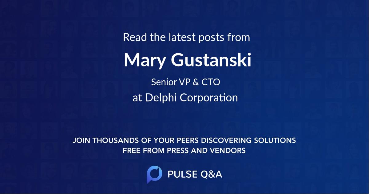 Mary Gustanski