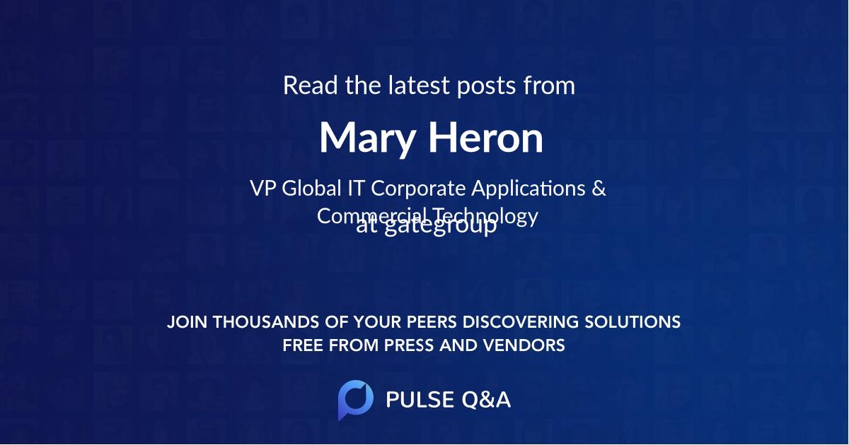Mary Heron