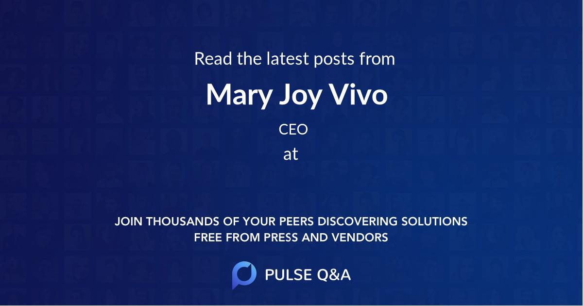 Mary Joy Vivo