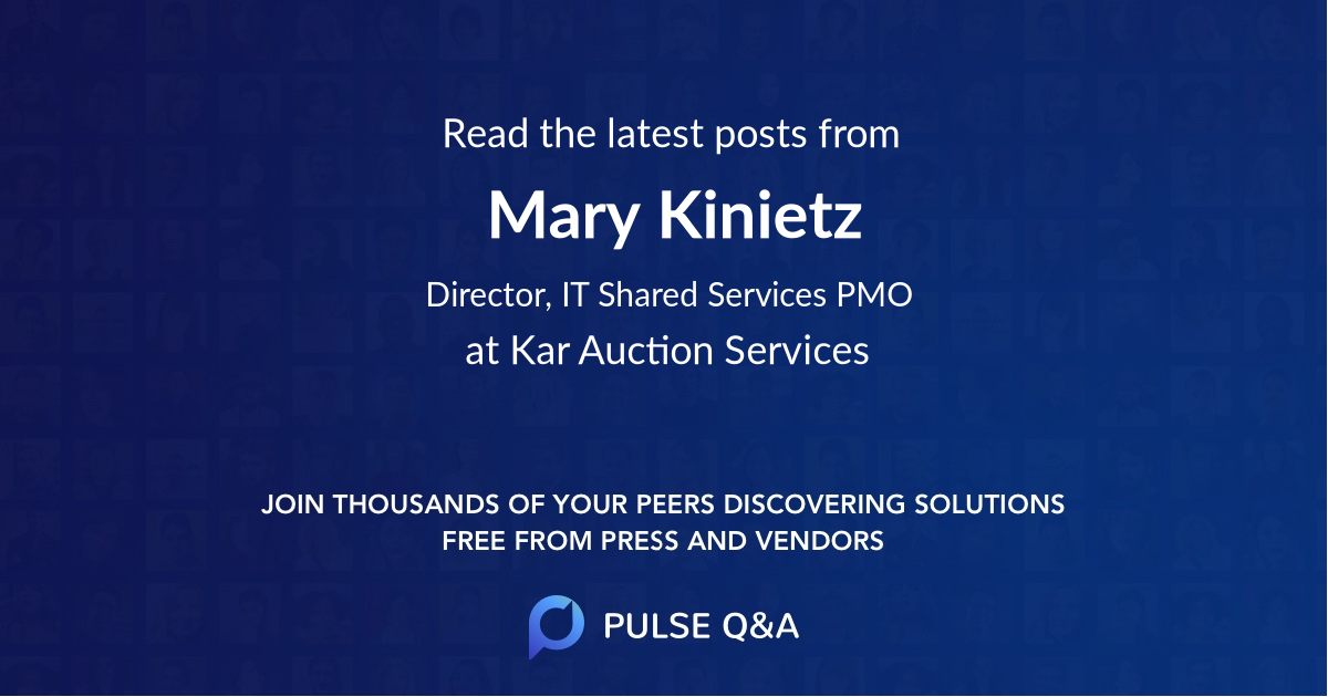 Mary Kinietz